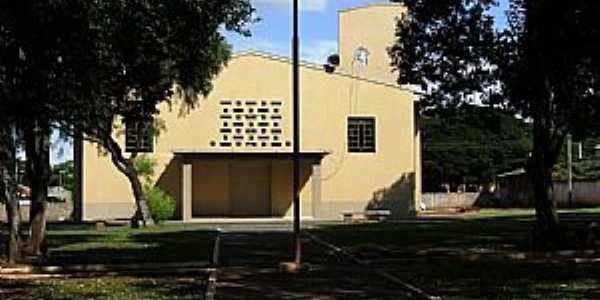 Içara-PR-Igreja Matriz-Foto:leandro renato ferreira