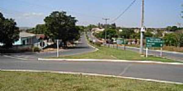 Trevo de acesso de Icaraíma-PR-Foto:fhsxp