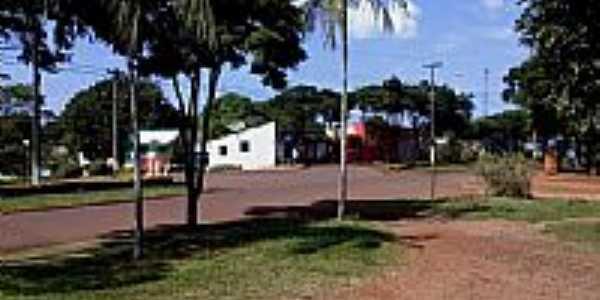 Praça do Cartório em Iguatu-Foto:J. M. C./ Anahy-Pr