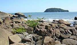 Ilha do Mel - Ilha da Galheta vista de Encantadas na Ilha do Mel-PR-Foto:Paulo Yuji Tacarada
