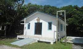 Ilha do Mel - Ilha do Mel-PR-Igreja de N.Sra.dos Navegantes-Foto:Douglas D, mar