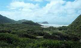 Ilha do Mel - Ilha do Mel-PR-Vista da praia-Foto:Gustavo Ramos Chagas