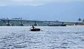 Ilha dos Valadares - Ponte da Ilha dos Valadares-PR-Foto:gazetadopovo.