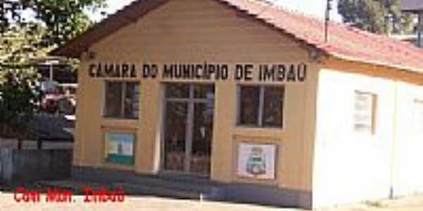 Câmara Municipal de Imbaú-Foto:Aparecido Ferraz