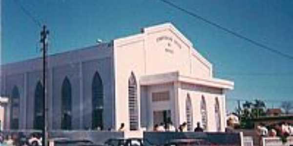 Igreja da Congregação Cristã do Brasil em Imbaú-Foto:Congregação Cristã.NET