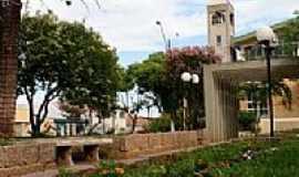 Ipiranga - Praça em frente à Igreja em Ipiranga-Foto:Tatiana Blum