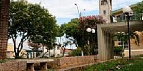 Praça em frente à Igreja em Ipiranga-Foto:Tatiana Blum