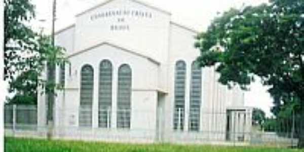Igreja da Congregação Cristã do Brasil em Iporã-Foto:Congregação Cristã.NET