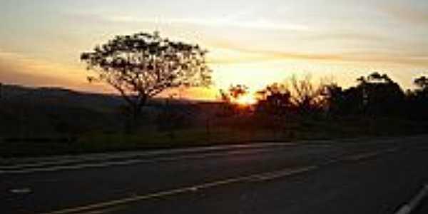 Irerê-PR-Lindo Pôr do Sol-Foto:Grupo Phisiomax