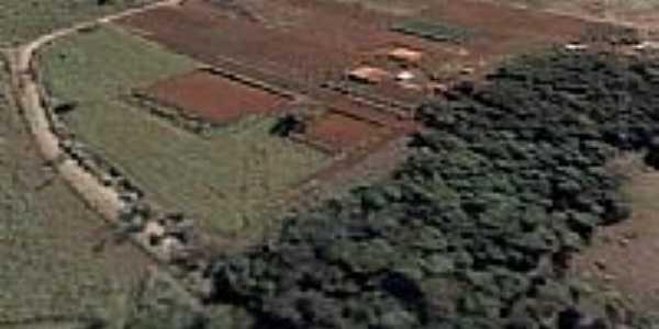Vista aérea da Chácara Pampas do Sul em Irerê-Foto:Grupo Phisiomax