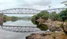 Iaçu - Antiga ponte ferroviária, Por Martinho A. Teixeira