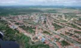 Ia�u - Vista a�rea da cidade, Por Martinho A. Teixeira