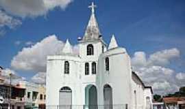 Ia�u - Matriz do Sagrado Cora��o de Jesus em Ia�u-Foto:Vicente A. Queiroz