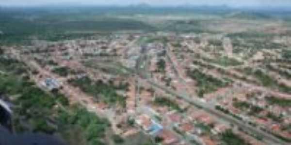 Vista a�rea da cidade, Por Martinho A. Teixeira