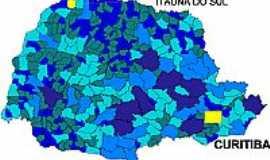 Itaúna do Sul - Mapa