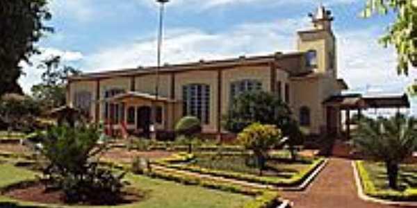 Paróquia de São Gabriel Arcanjo e São Sebastião no Distrito de Ivailândia-PR-Foto:Nilson Reis Gonçalves