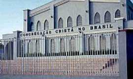 Jacarezinho - Igreja da Congregação Cristã do Brasil em Jacarezinho-Foto:Congregação Cristã.NET