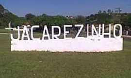 Jacarezinho - Trevo de entrada de Jacarezinho-Foto:Everton Silva V