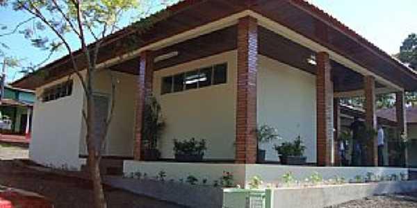 Jacutinga-PR-Casa sede do Camping Municipal-Foto:macamp.com.br