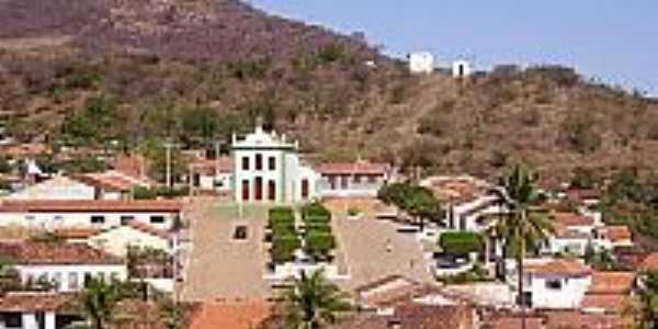 Vista do centro de Ibiajara-BA-Foto:José di Ambrósio