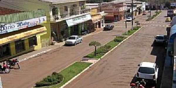 Janiópolis-PR-Avenida Paraná-Foto:www.flogao.com.br