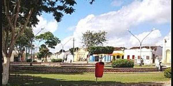 Ibiaporã-BA-Centro da cidade-Foto:www.calilanoticias.com