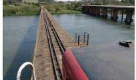 Jataizinho - Ponte férrea sobre o rio Tibagi, Por Acir Mandello