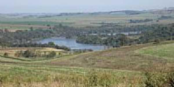 Vista do Rio Tibagi em Jataizinho-Foto:Lorrayne