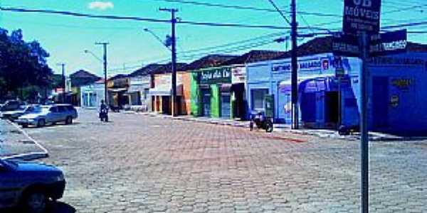 Jundiaí do Sul-PR-Rua São Francisco no centro-Foto:Celio2009