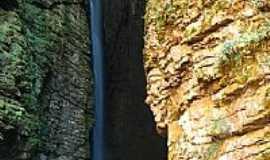 Ibicoara - Cachoeira da Fumacinha em Ibicoara-BA-Foto:GreenDK