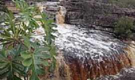 Ibicoara - Cachoeira das Orqu�deas em Ibicoara-Foto:Jo�o Alves da Silva