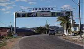 Ibicoara - P�rtico de entrada de Ibicoara-Foto:Jo�o Alves da Silva