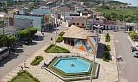 Ibicoara - Pra�a central em Ibicoara-BA-Foto:edsonpimenta.