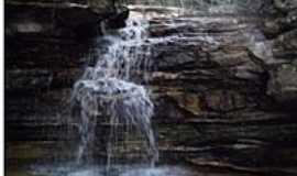 Ibicoara - Uma das Cachoeiras das Ra�zes em Ibicoara-Foto:Jo�o Alves da Silva