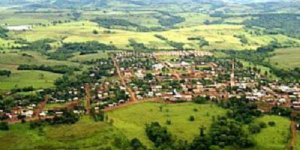 Laranjal-PR-Vista aérea da cidade-Foto:www.paranaturismo.com.br