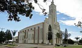 Laranjeiras do Sul - Igreja Matriz de Laranjeiras do Sul-PR-Foto:Ricardo Mercadante