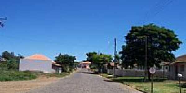 Rua Norte Pioneiro em Lavrinha-Foto:valdir merege