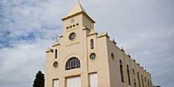 Matriz de São Pedro Apóstolo em Ibicuí-BA-Foto:Vicente A. Queiroz