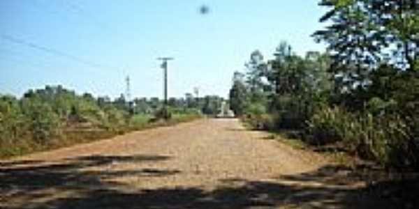 Estrada saindo de Lerrovile-Foto:Alex Coelho-Londrina…