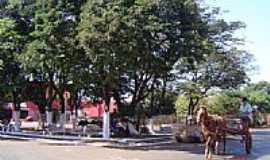 Lidianópolis - Praça Antonio   Chirchia-Foto:JOSE VANTUIR