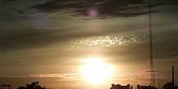 Pôr do Sol em Lidianópolis-Foto:agrofertil