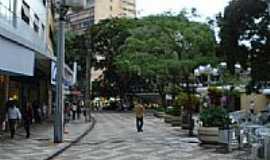 Londrina - Calçadão no centro de  Londrina-PR-Foto:josé carlos farina