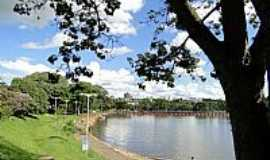 Londrina - Lago Igapó em Londrina-PR-Foto:josé carlos farina