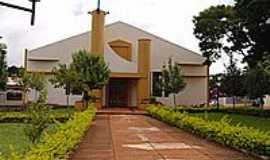 Luiziana - Paróquia  N.Sra.Aparecida em Luiziana-PR-Foto:Nilson Reis Gonçalves