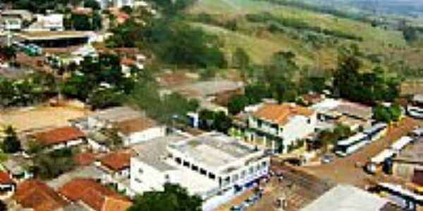 Vista aérea parcial de Lunardelli-Foto:Reinaldo Grola