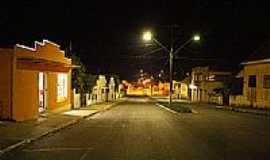 Mallet - Av.João Pessoa,vista noturna,em Mallet-Foto:Claudio J. Melnik