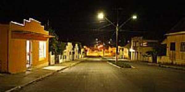 Av.João Pessoa,vista noturna,em Mallet-Foto:Claudio J. Melnik
