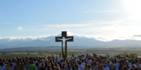 Mirante da Cruz Vazada - Morro do Mocó - Ibipetum, Por Jose Luciano