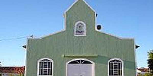 Igreja Menino Deus reconstruida pela Comunidade em 2003 em Ibipetum-BA-Foto:Wikipedia