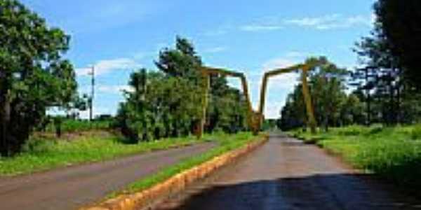 Portal de entrada de Mamborê-Foto:alepolvorines